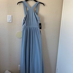 Light blue lulus long dress